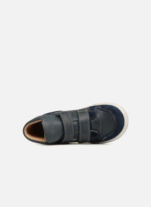 Sneaker Noël Ralfy blau ansicht von links