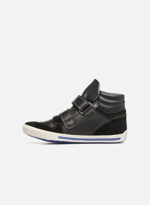 Sneaker Noël Ralfy schwarz ansicht von vorne