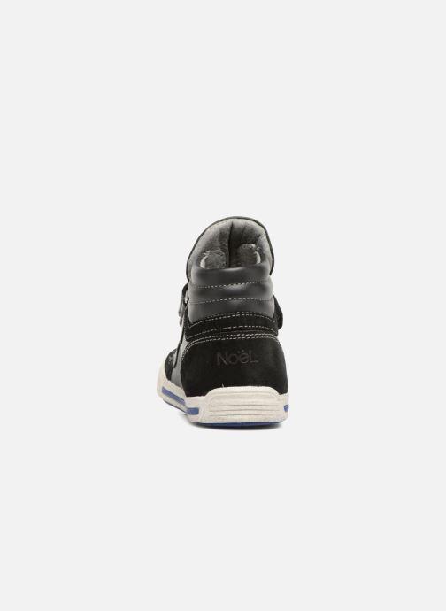 Sneaker Noël Ralfy schwarz ansicht von rechts
