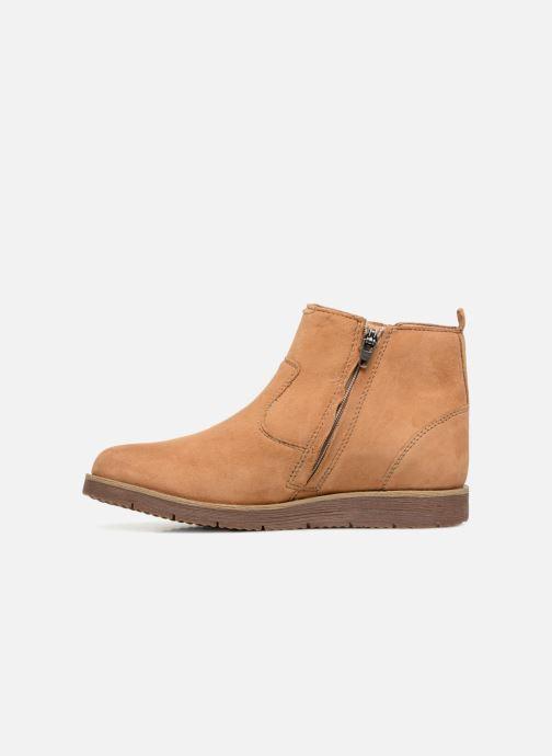 Bottines et boots Noël Galice Marron vue face