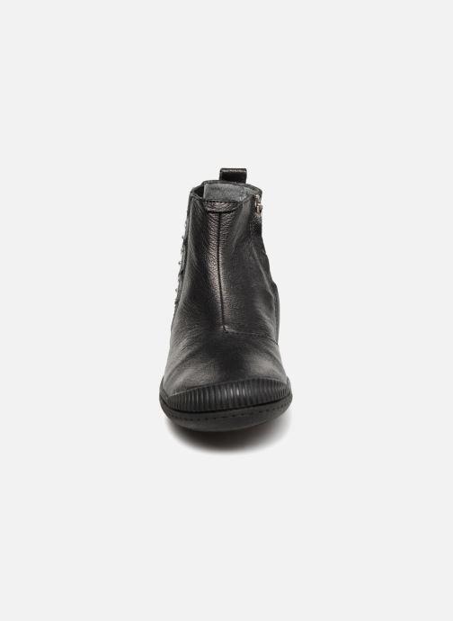 Bottines et boots Noël Irane Noir vue portées chaussures