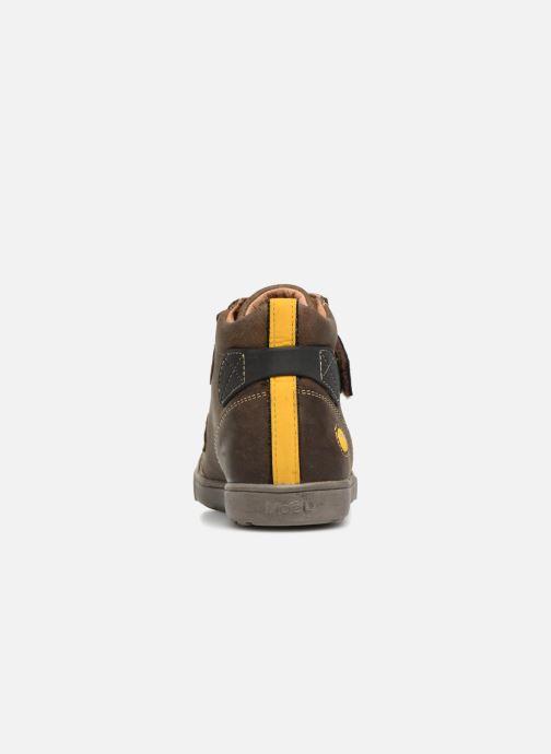 Sneaker Noël Oslo Tex braun ansicht von rechts