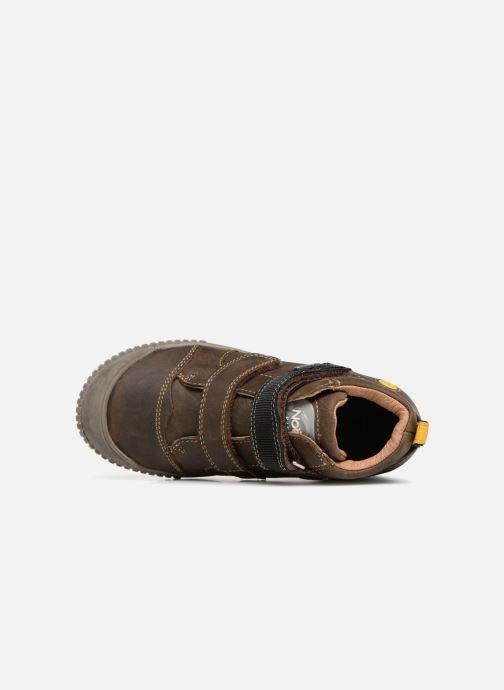 Sneaker Noël Oslo Tex braun ansicht von links