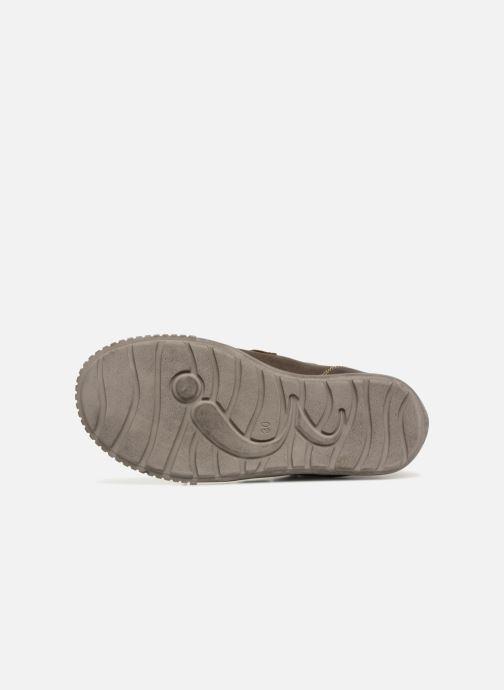 Sneaker Noël Oslo Tex braun ansicht von oben