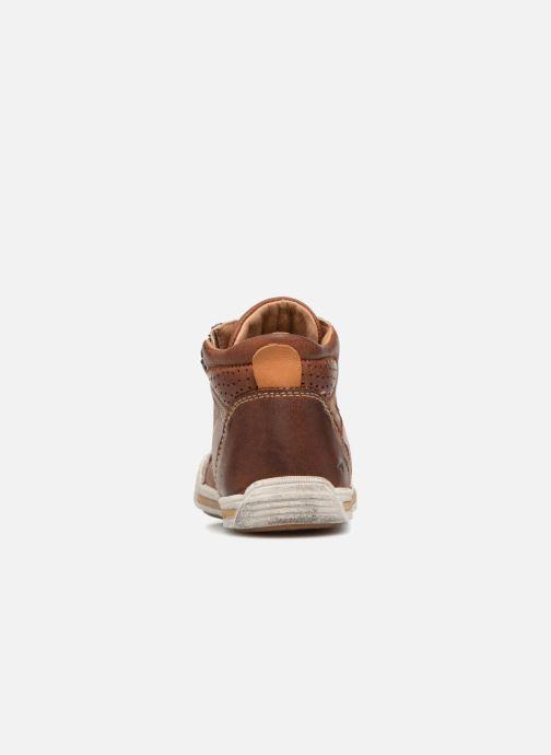 Sneakers Noël Raz Bruin rechts