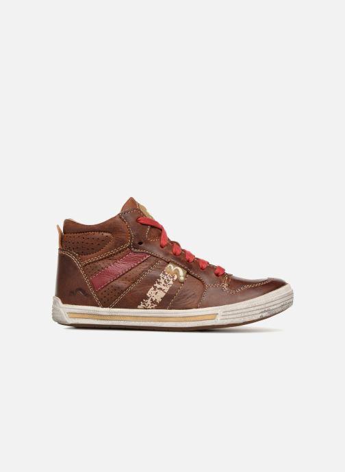 Sneakers Noël Raz Bruin achterkant
