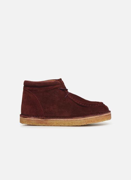 Chaussures à lacets Tinycottons TC Suede boot Violet vue derrière