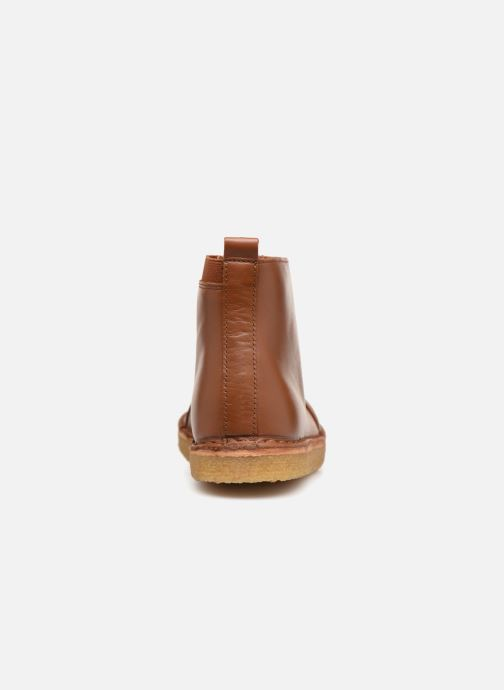 Stivaletti e tronchetti Tinycottons TC Elastic boot Marrone immagine destra