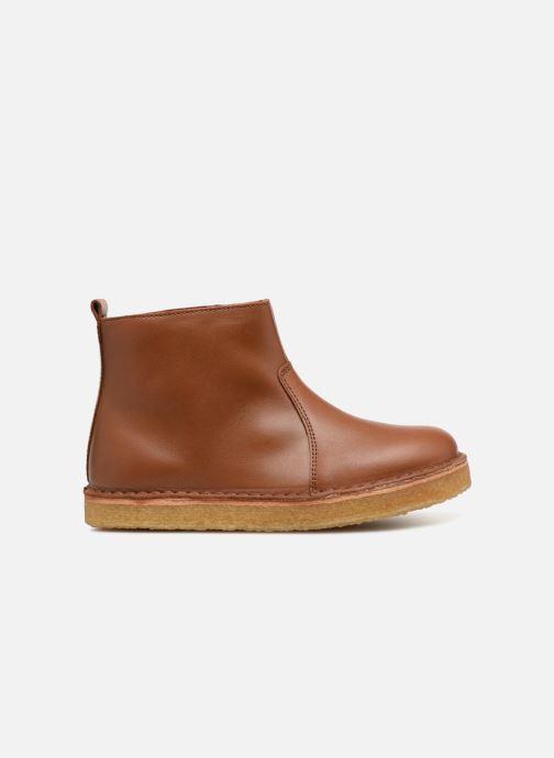 Stivaletti e tronchetti Tinycottons TC Elastic boot Marrone immagine posteriore