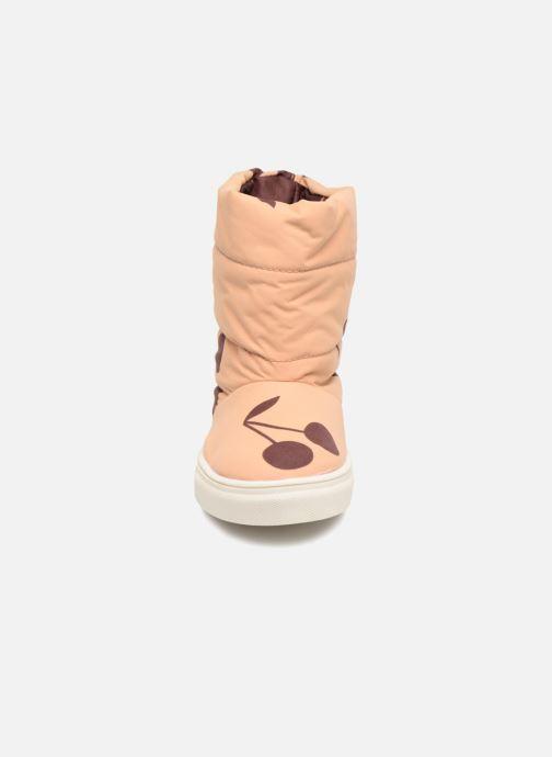 Chaussures de sport Tinycottons TC  ski boot Beige vue portées chaussures