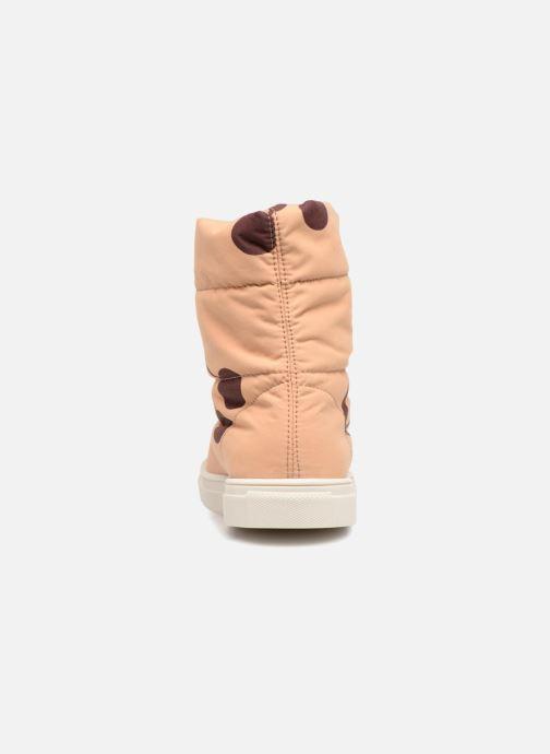Chaussures de sport Tinycottons TC  ski boot Beige vue droite