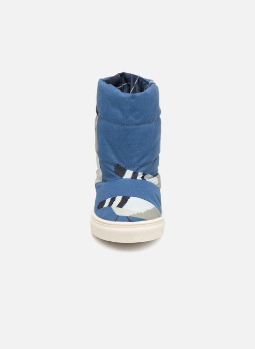 Scarpe sportive Tinycottons TC  ski boot Azzurro modello indossato