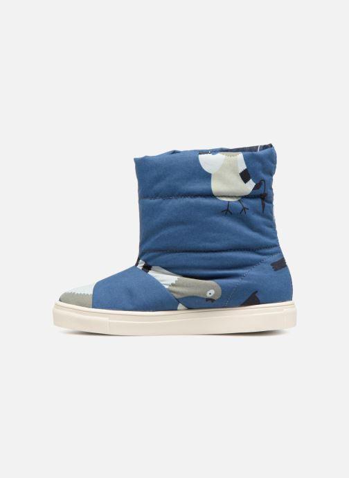 Zapatillas de deporte Tinycottons TC  ski boot Azul vista de frente