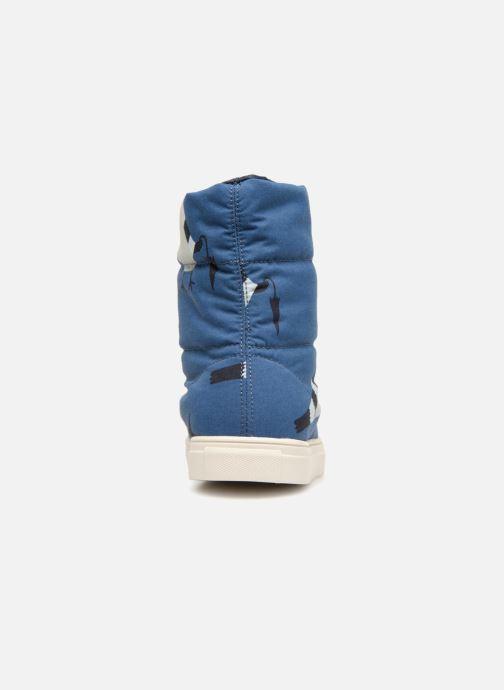 Zapatillas de deporte Tinycottons TC  ski boot Azul vista lateral derecha