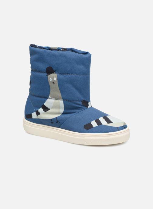 Zapatillas de deporte Tinycottons TC  ski boot Azul vista de detalle / par