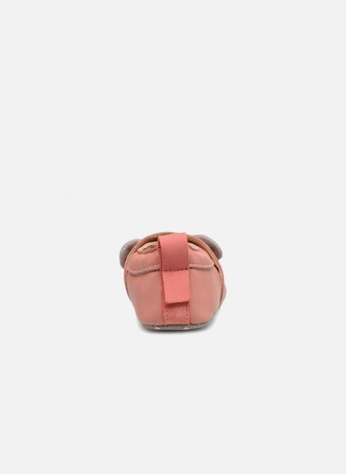 Pantofole Babybotte Sourirose - Moulin Roty Rosa immagine destra