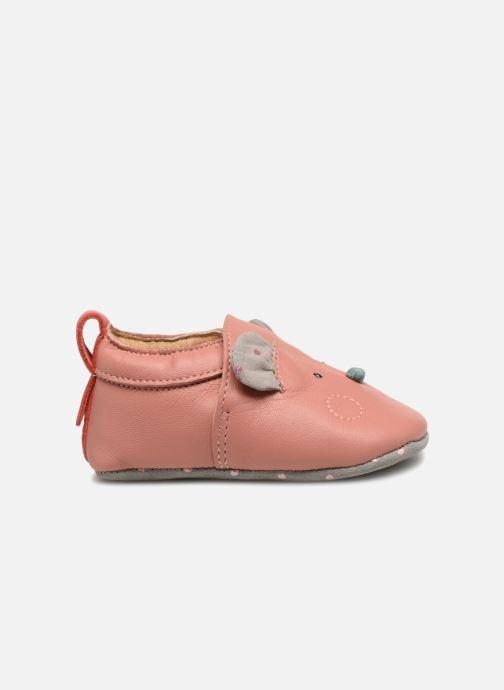 Hjemmesko Babybotte Sourirose - Moulin Roty Pink se bagfra