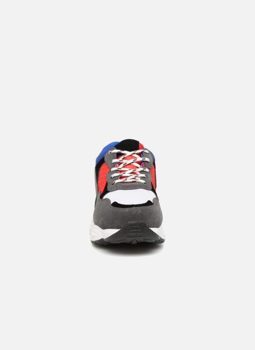 Deportivas I Love Shoes THICHUNK Bold Azul vista del modelo