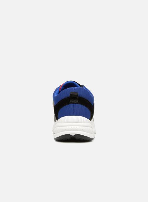 Deportivas I Love Shoes THICHUNK Bold Azul vista lateral derecha