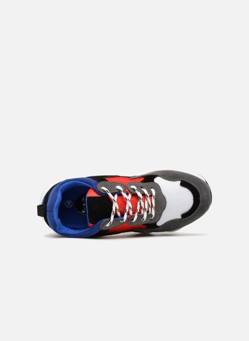 Deportivas I Love Shoes THICHUNK Bold Azul vista lateral izquierda