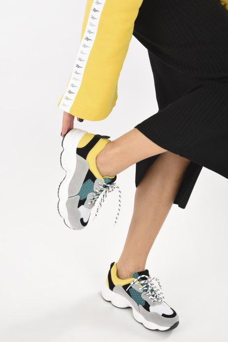 Deportivas I Love Shoes THICHUNK Bold Amarillo vista de abajo