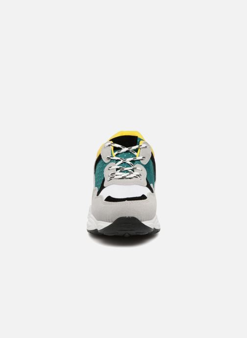 Baskets I Love Shoes THICHUNK Bold Jaune vue portées chaussures