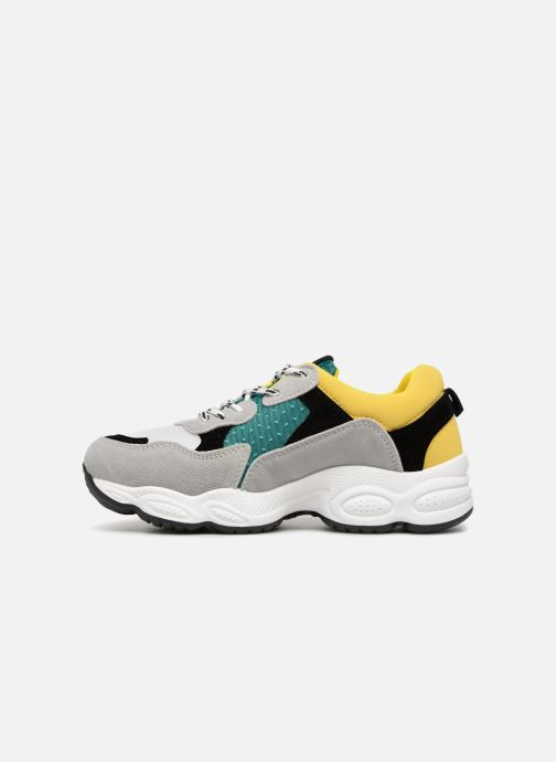 Baskets I Love Shoes THICHUNK Bold Jaune vue face