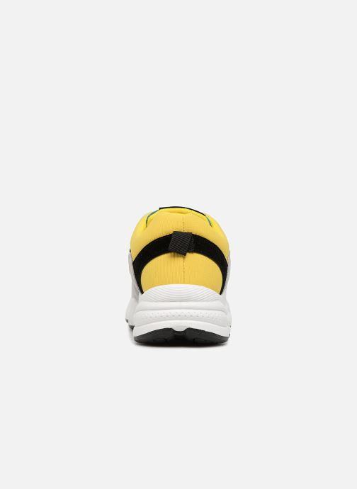 Deportivas I Love Shoes THICHUNK Bold Amarillo vista lateral derecha