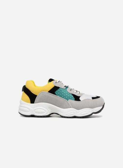 Deportivas I Love Shoes THICHUNK Bold Amarillo vistra trasera