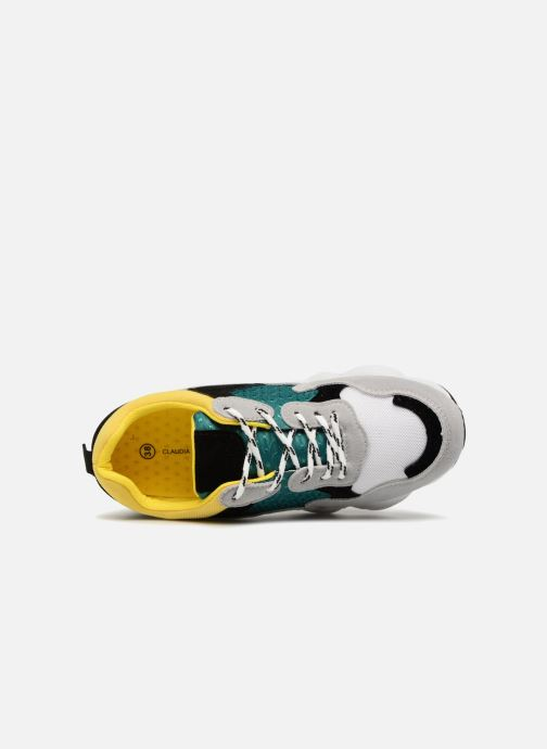 Deportivas I Love Shoes THICHUNK Bold Amarillo vista lateral izquierda
