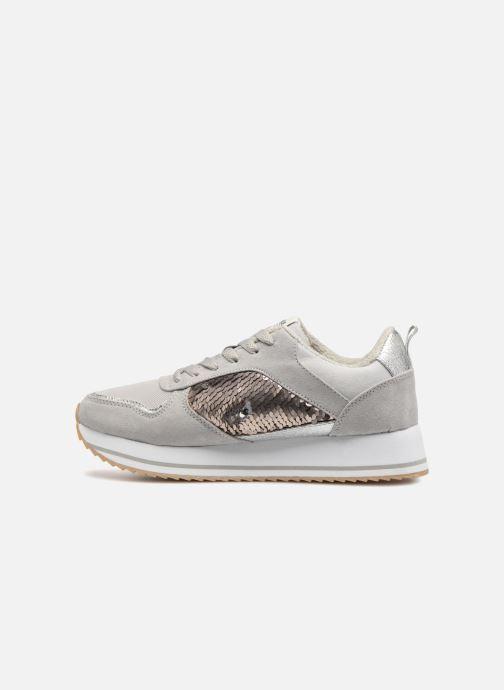 Sneaker ONLY onlSMILLA ELEVATED GLITTER SNEAKER grau ansicht von vorne