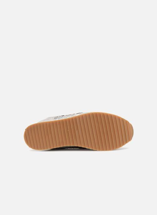 Sneaker ONLY onlSMILLA ELEVATED GLITTER SNEAKER grau ansicht von oben
