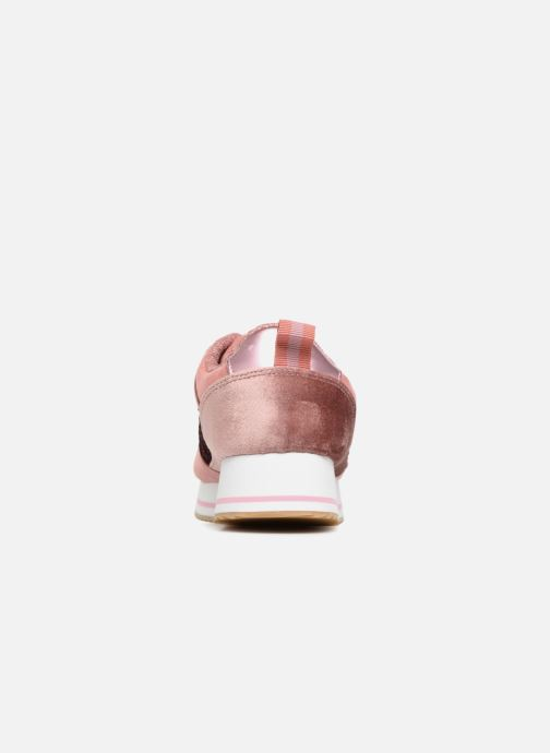 Baskets ONLY onlSMILLA ELEVATED GLITTER SNEAKER Rose vue droite