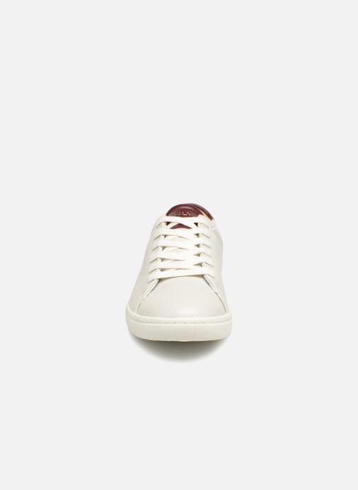 Baskets ONLY onlSILJA PU SNEAKER Blanc vue portées chaussures