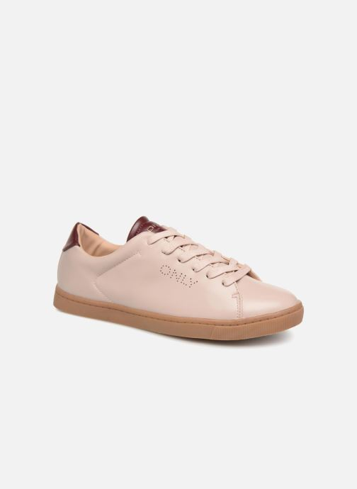 Baskets ONLY onlSILJA PU SNEAKER Rose vue détail/paire