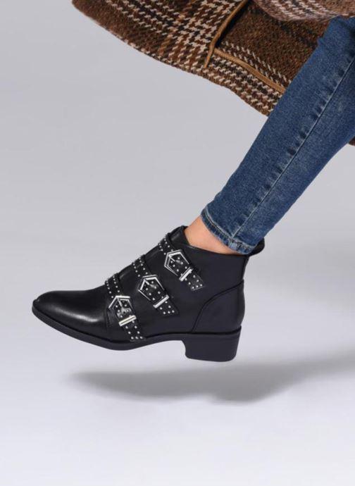 Bottines et boots ONLY OnlBRIGHT PU BOOTIE Noir vue bas / vue portée sac