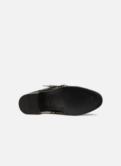 Bottines et boots ONLY OnlBRIGHT PU BOOTIE Noir vue haut