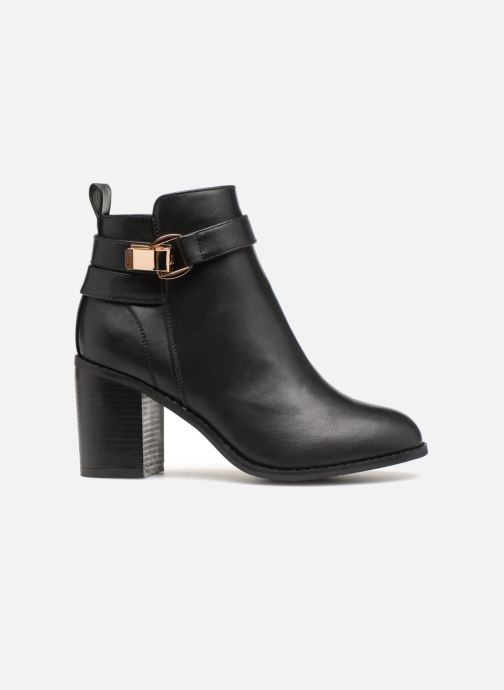 Ankle boots ONLY onlBINO HEELED PU BOOTIE Black back view