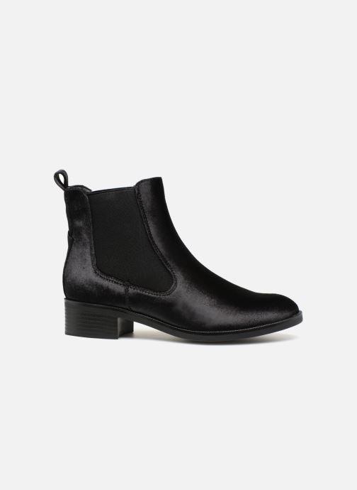 Bottines et boots ONLY onlBRIGHT VELVET PU BOOTIE Noir vue derrière