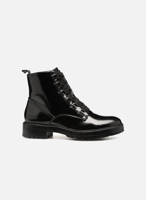 Bottines et boots ONLY onlBAD PATENT LACE UP BOOTIE Noir vue derrière