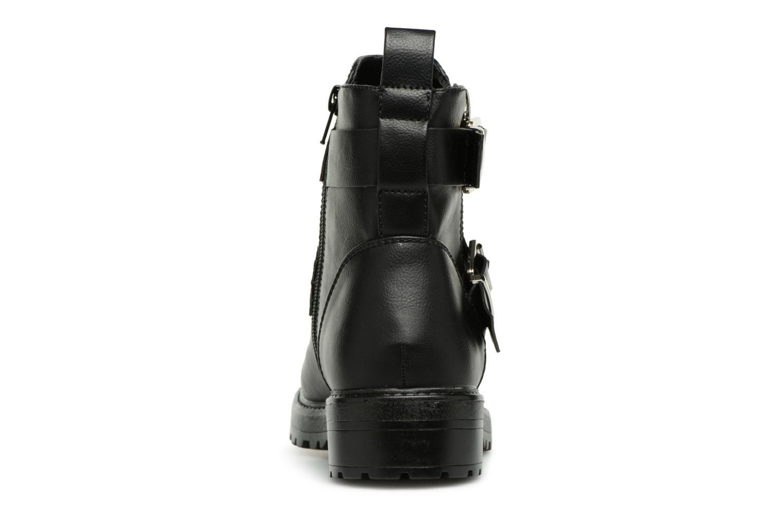 Boots en enkellaarsjes ONLY onlBAD BUCKLE PU BOOTIE Zwart rechts