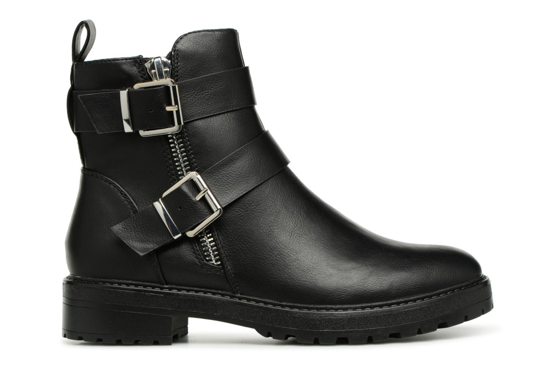 Boots en enkellaarsjes ONLY onlBAD BUCKLE PU BOOTIE Zwart achterkant
