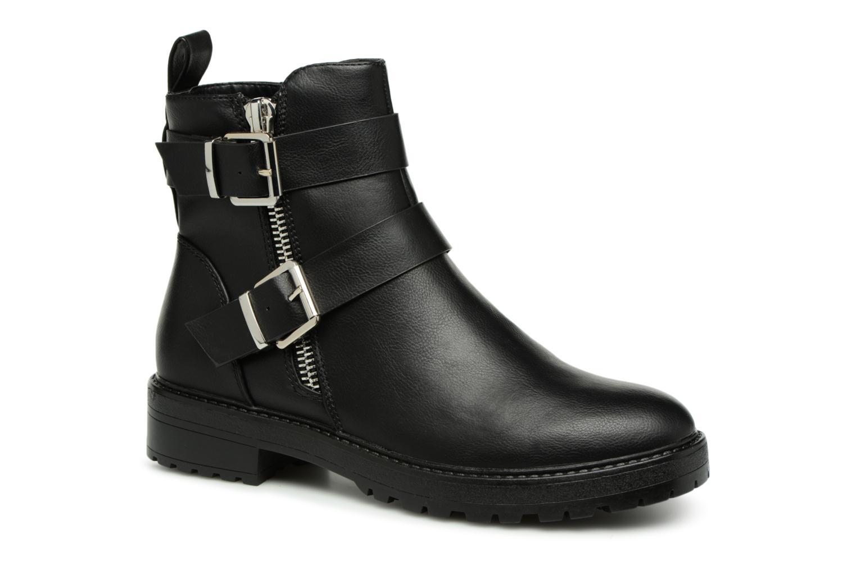 Boots en enkellaarsjes ONLY onlBAD BUCKLE PU BOOTIE Zwart detail