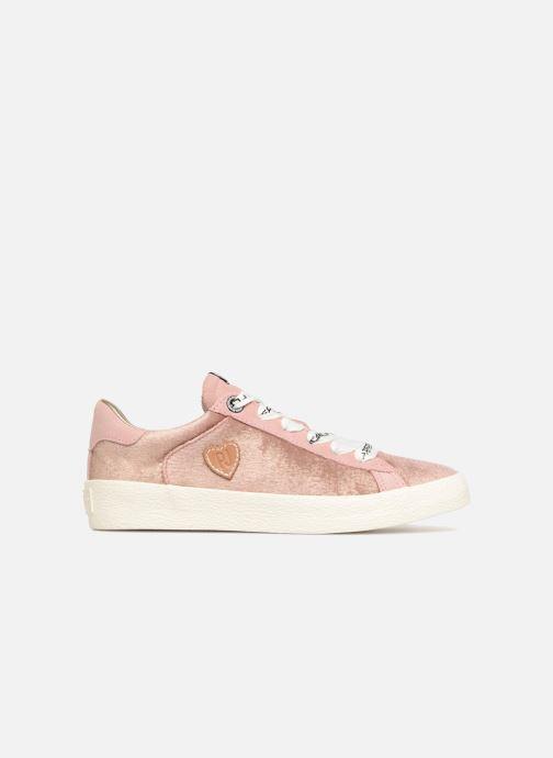 Sneaker Pepe jeans Portobello Velvet rosa ansicht von hinten