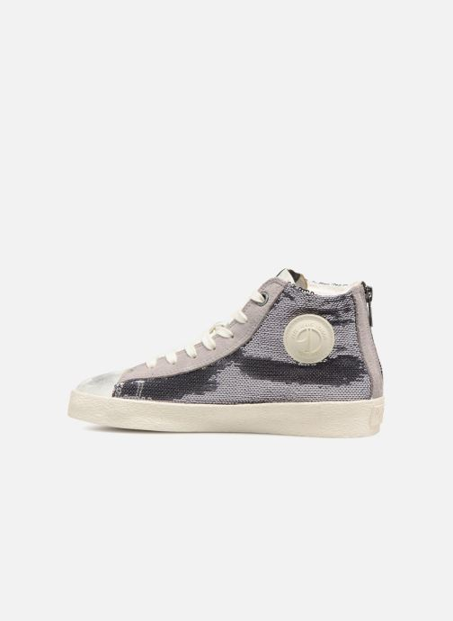 Sneakers Pepe jeans Portobello Sequins Argento immagine frontale