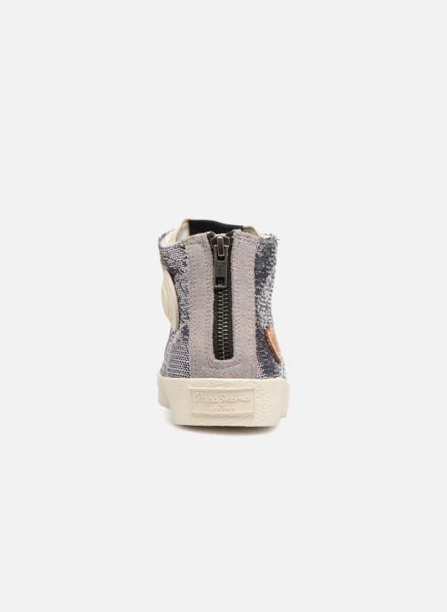 Sneakers Pepe jeans Portobello Sequins Zilver rechts