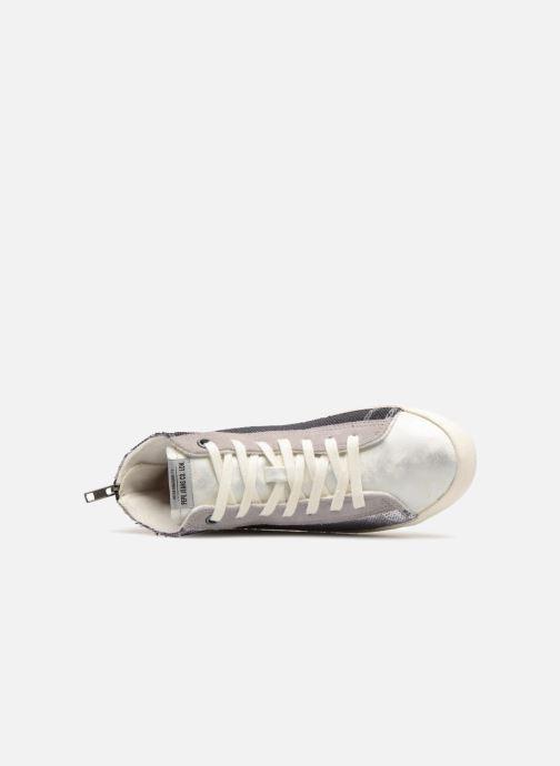Sneakers Pepe jeans Portobello Sequins Argento immagine sinistra