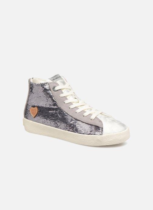 Sneakers Pepe jeans Portobello Sequins Zilver detail