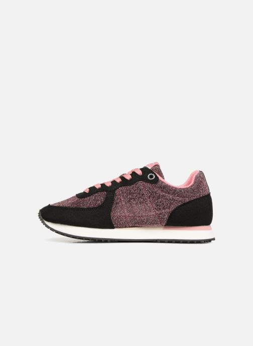 Trainers Pepe jeans Sydney 2.0 Party Black front view