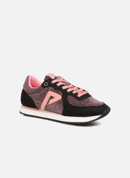 Trainers Pepe jeans Sydney 2.0 Party Black detailed view/ Pair view